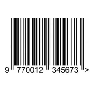 ISSN Magazine Barcode Images